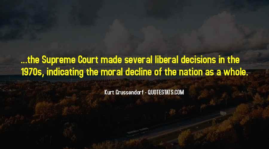 Moral Decline Quotes #938717
