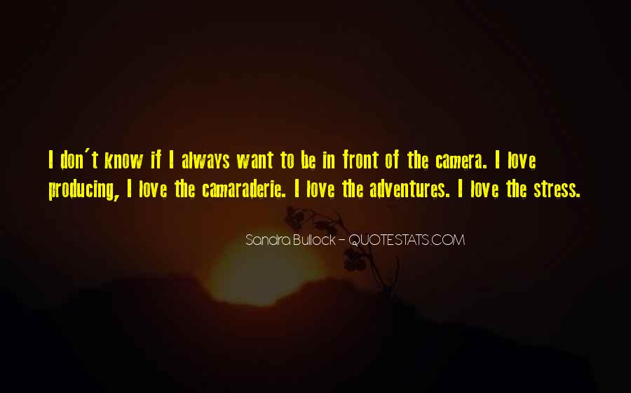 More Adventures To Come Quotes #18917