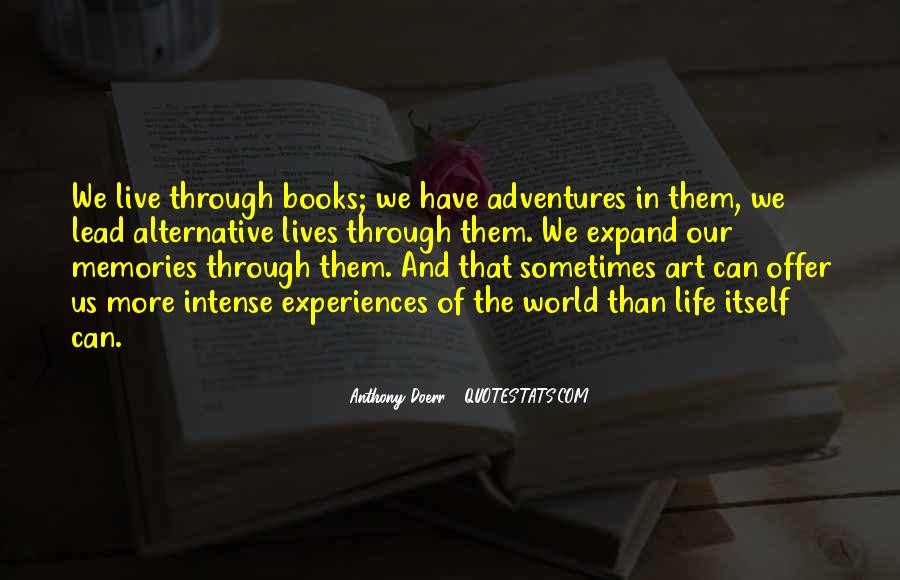 More Adventures To Come Quotes #76557
