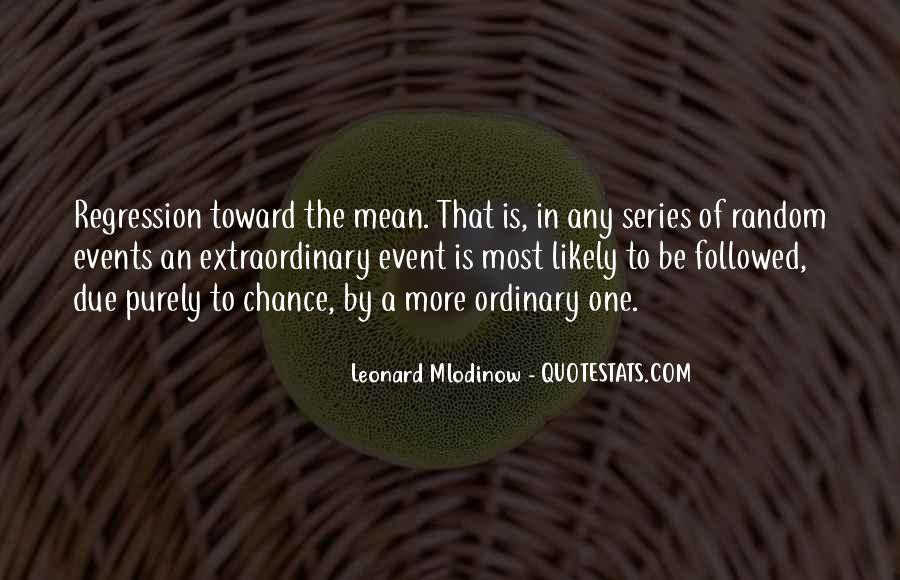 More Chance Of Quotes #248200