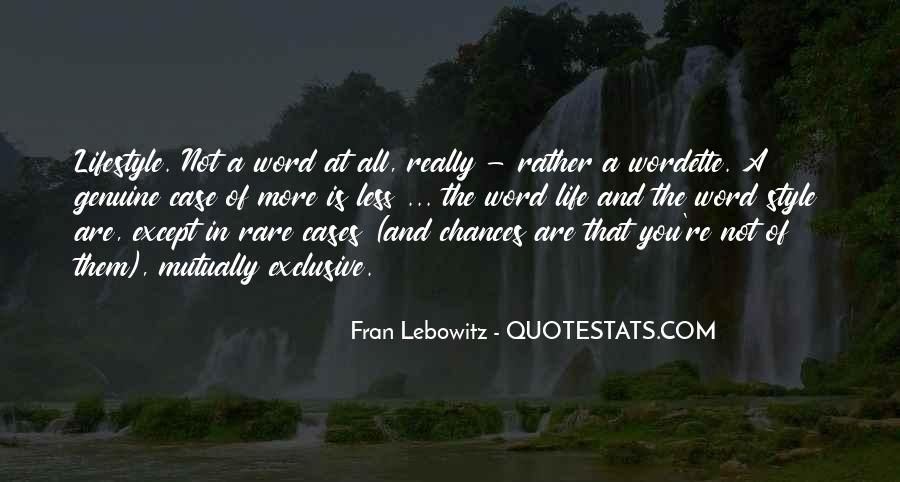 More Chance Of Quotes #520000