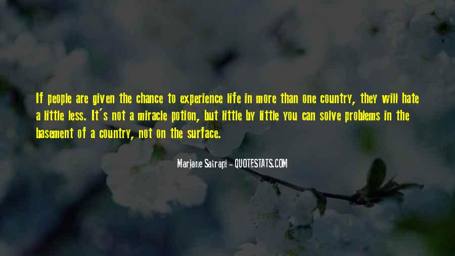 More Chance Of Quotes #9817