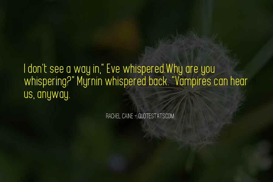Morganville Vampires Myrnin Quotes #23380