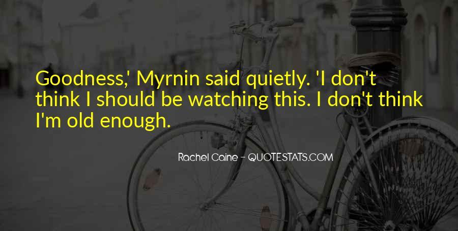 Morganville Vampires Myrnin Quotes #373906