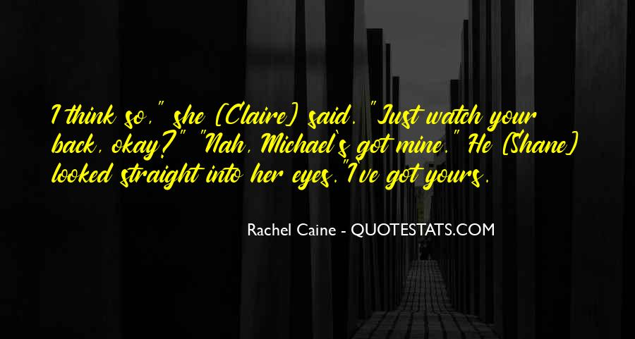 Morganville Vampires Shane And Claire Quotes #1488151