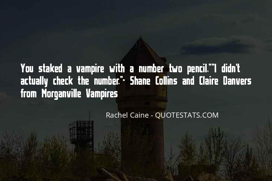 Morganville Vampires Shane And Claire Quotes #1717826