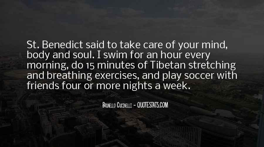 Morning Exercises Quotes #1213001