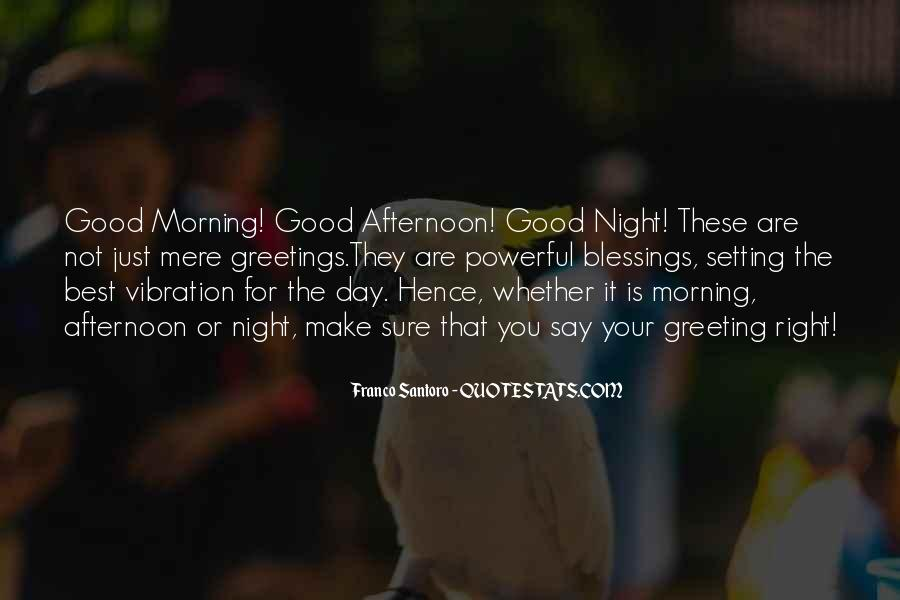 Morning Greeting Quotes #547832