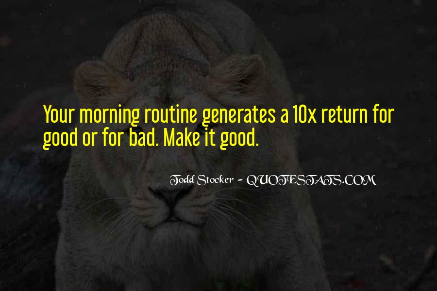 Morning Inspirational And Motivational Quotes #999580