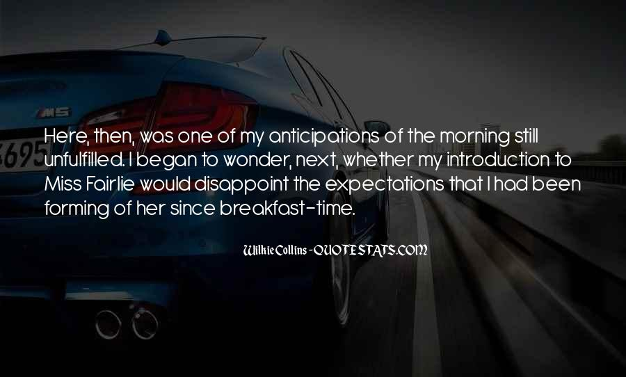 Morning Miss Him Quotes #1528506