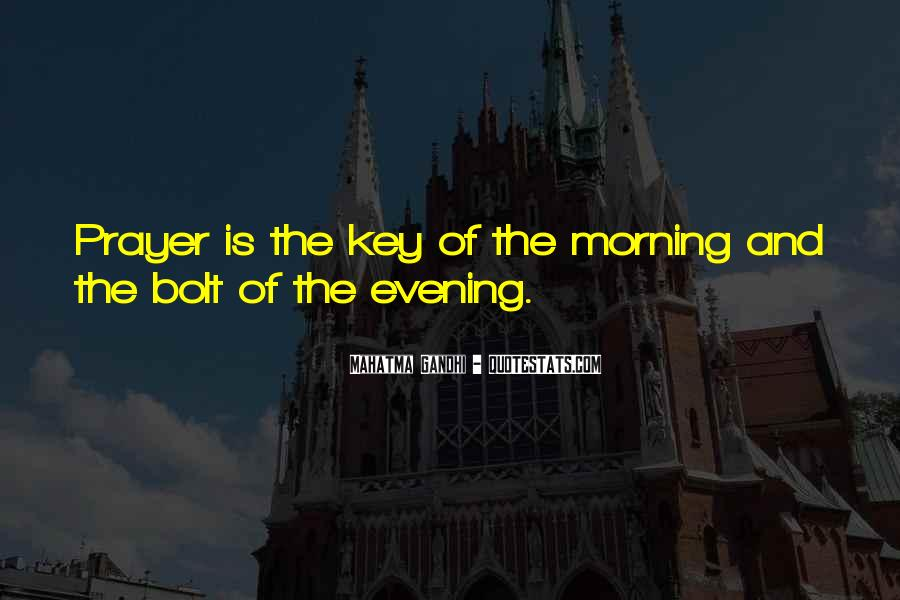 Morning Prayer And Quotes #606498
