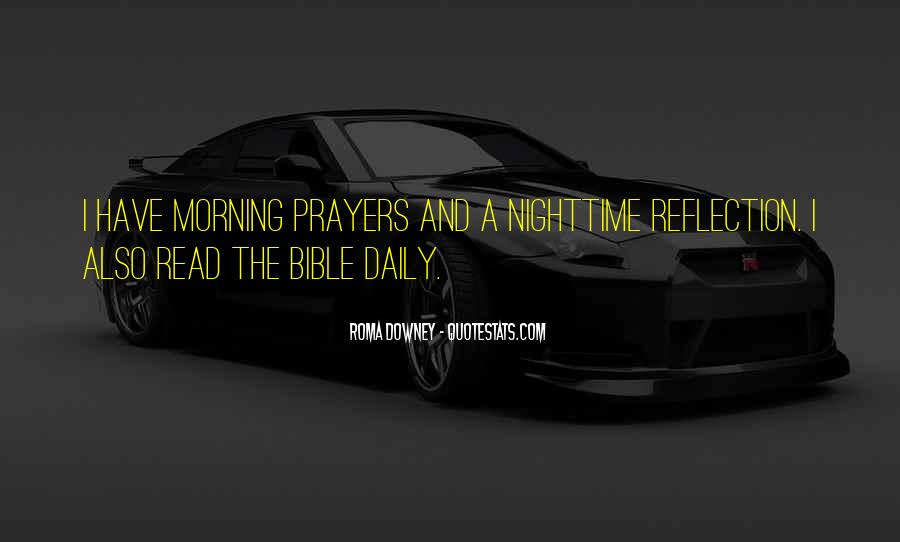 Morning Prayer Bible Quotes #1524448