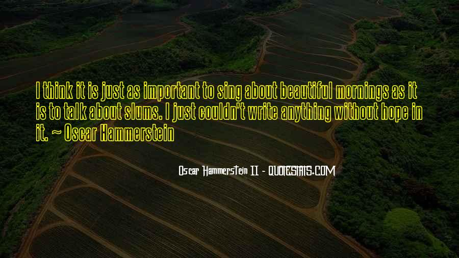 Mornings Are Beautiful Quotes #1343180