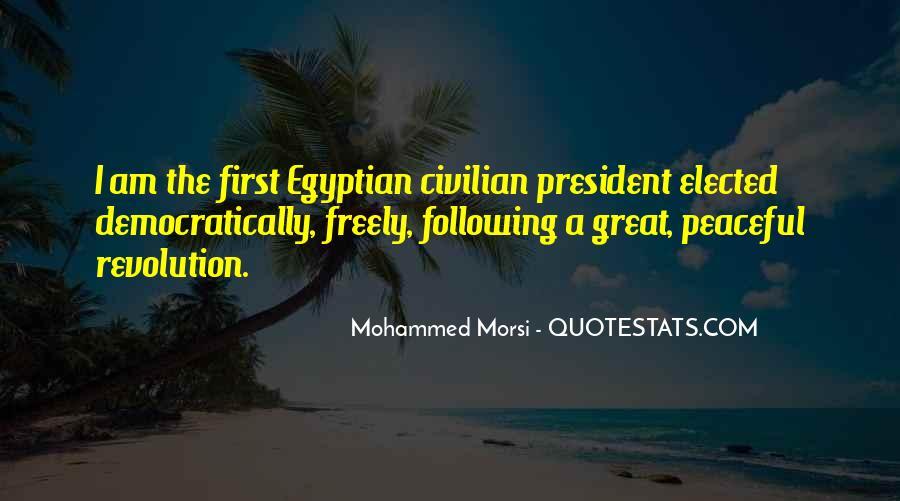 Morsi Quotes #1007454