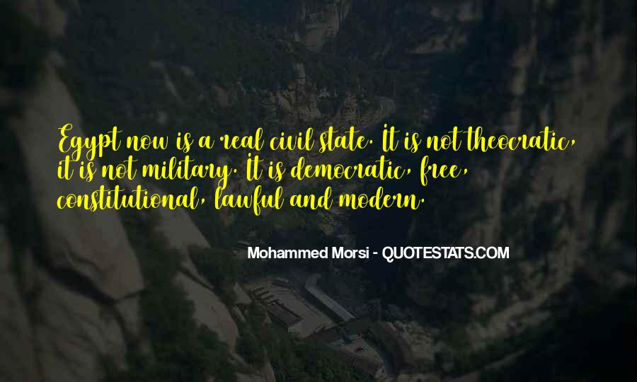 Morsi Quotes #1429880
