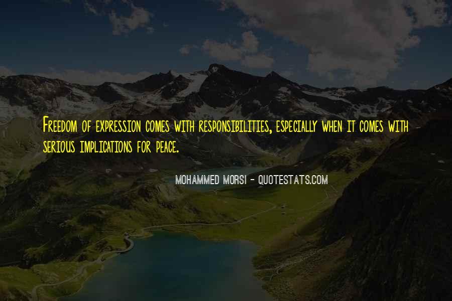 Morsi Quotes #1742630