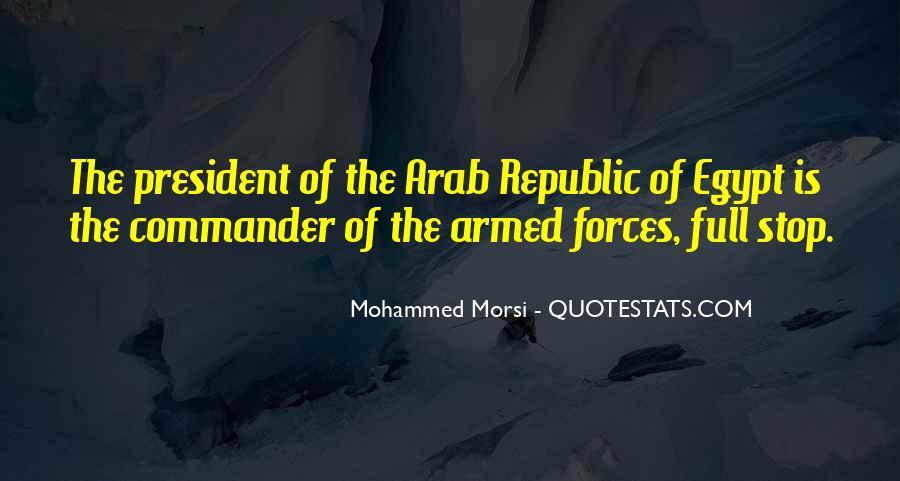 Morsi Quotes #19016