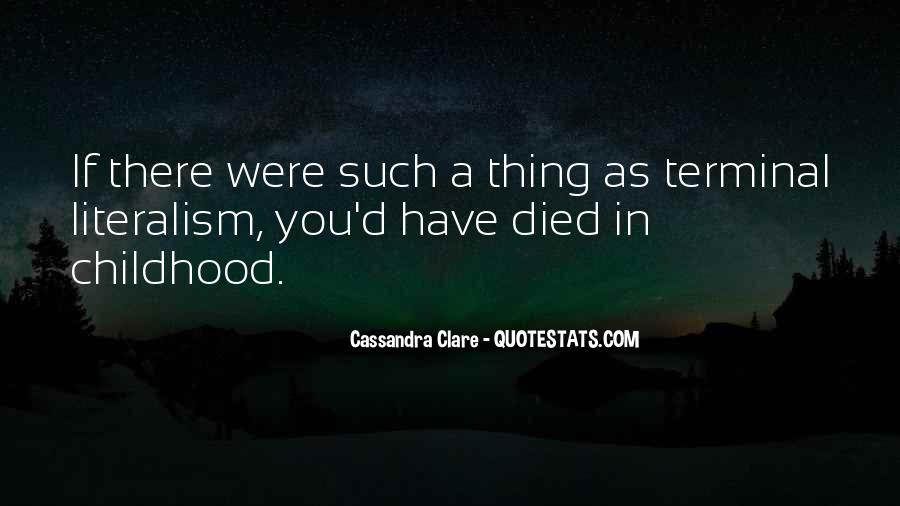 Mortal Instruments Best Jace Quotes #214392