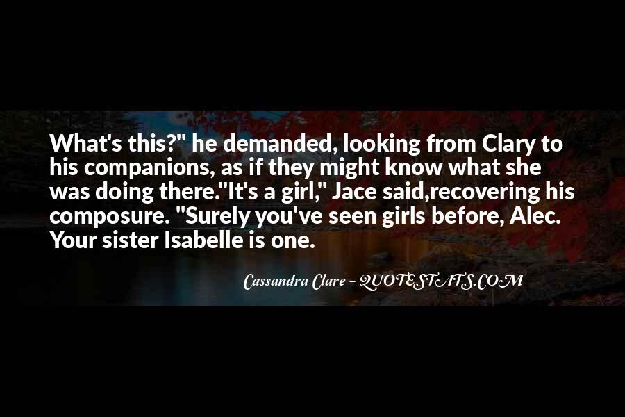 Mortal Instruments Best Jace Quotes #289452