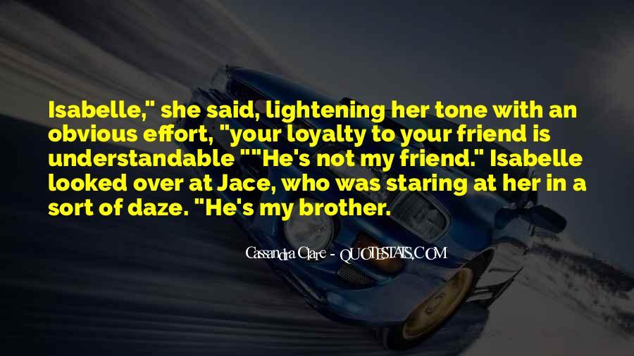 Mortal Instruments Best Jace Quotes #354819
