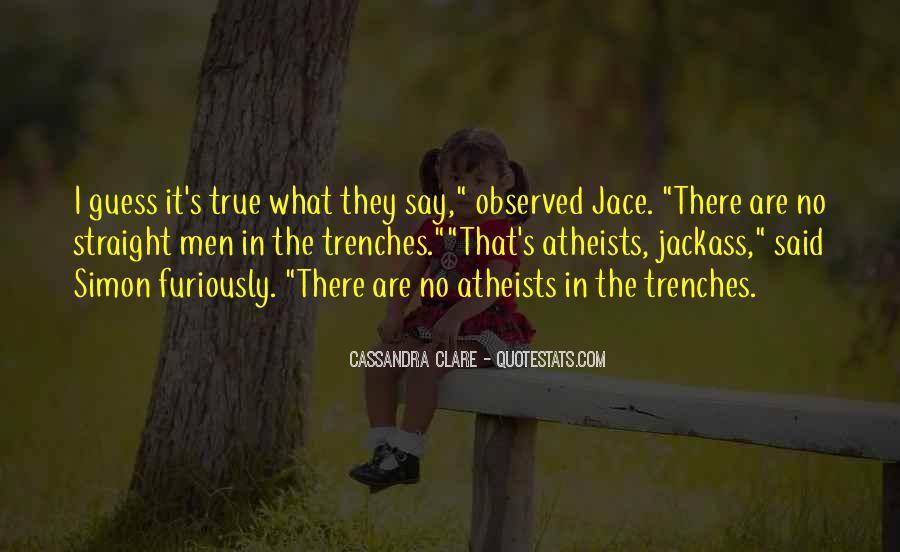 Mortal Instruments Best Jace Quotes #523717