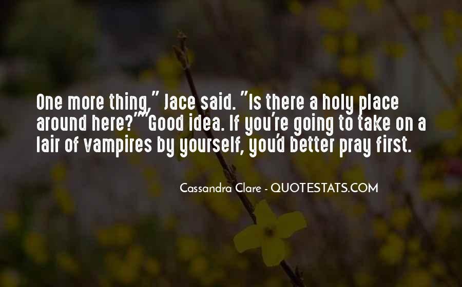 Mortal Instruments Best Jace Quotes #744582