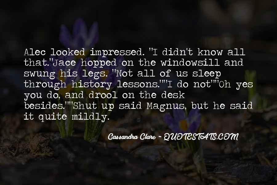 Mortal Instruments Best Jace Quotes #757084