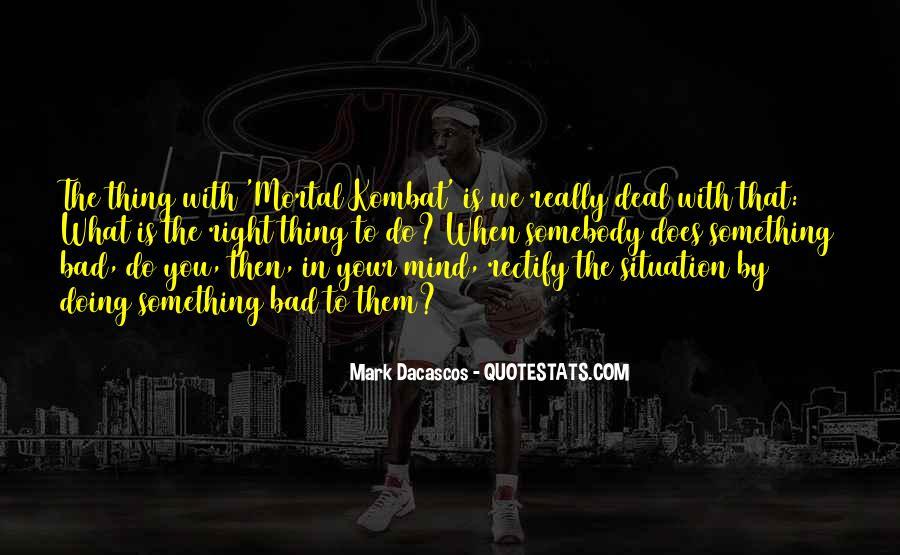 Mortal Kombat 9 Quotes #1677199
