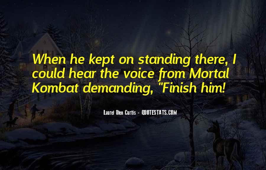 Mortal Kombat 9 Quotes #750357