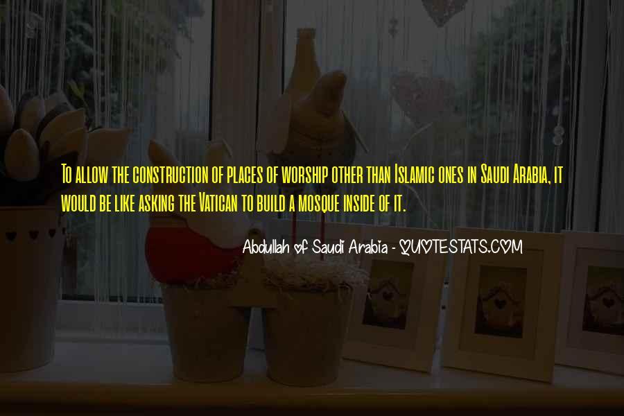 Mosque Quotes #1520559