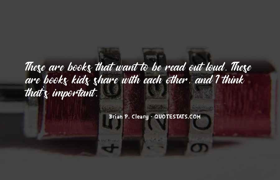 Quotes About Cleary #1041086