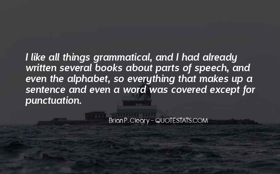Quotes About Cleary #1041140