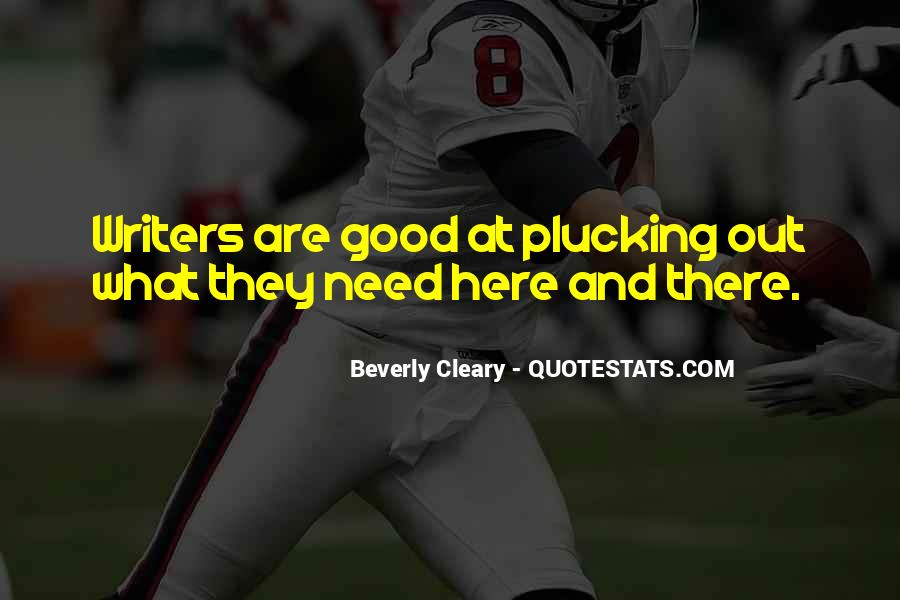 Quotes About Cleary #1123921