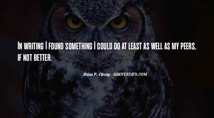 Quotes About Cleary #32474