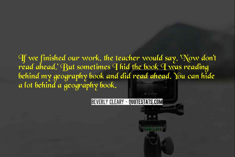 Quotes About Cleary #50955