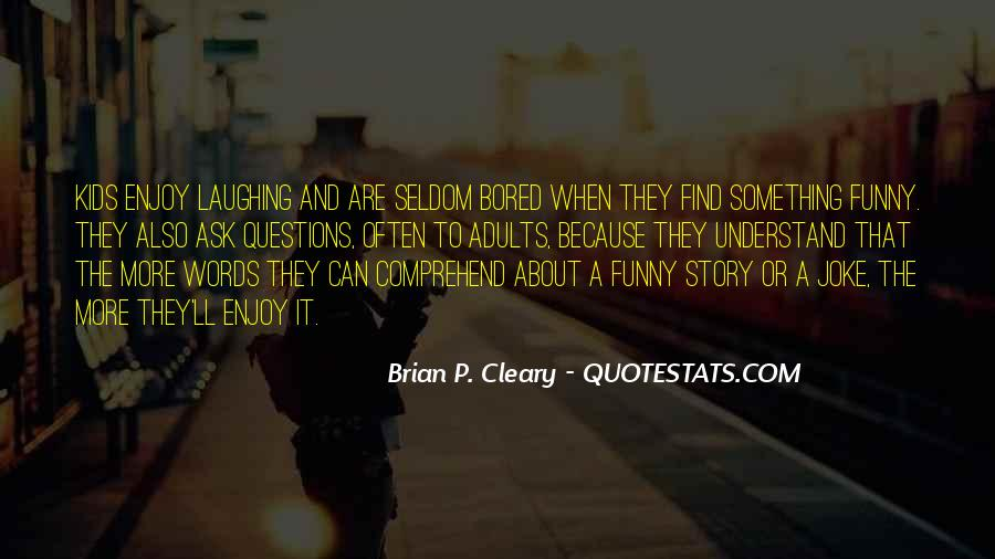 Quotes About Cleary #555803