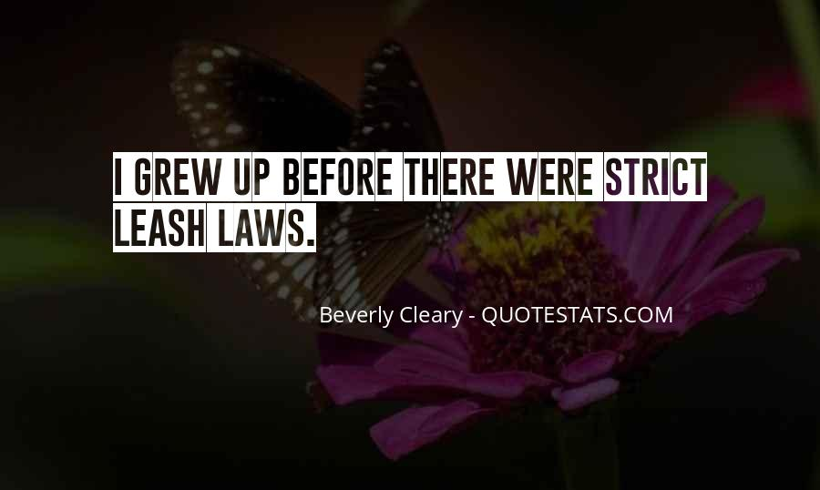 Quotes About Cleary #613396