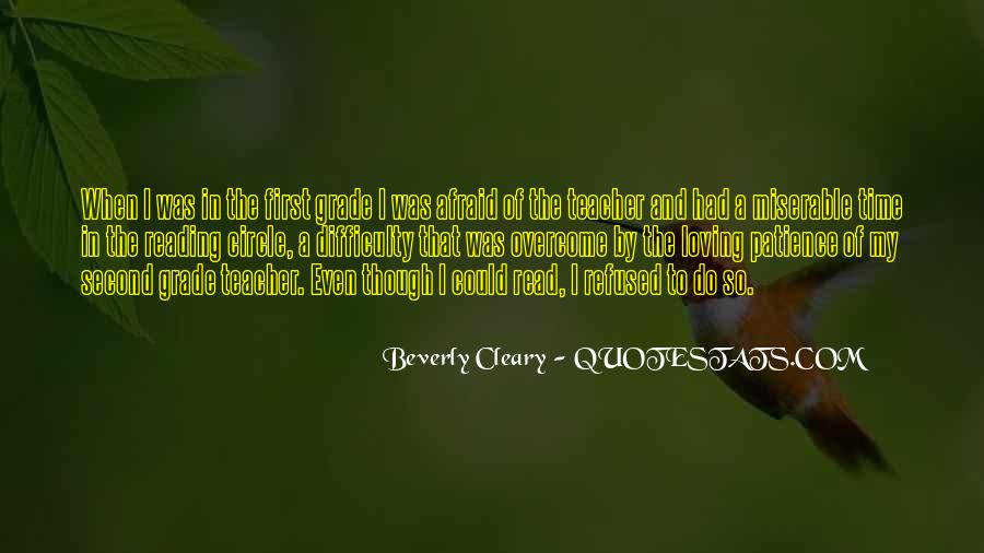 Quotes About Cleary #654083