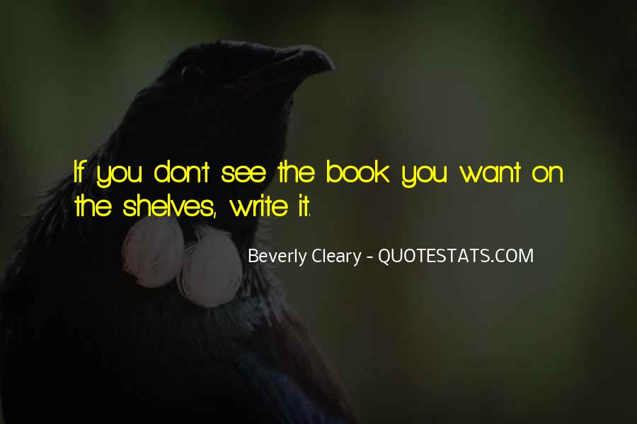 Quotes About Cleary #860235