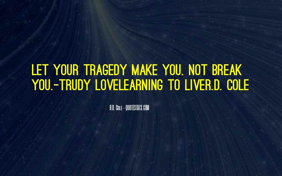 Most Tragedy Love Quotes #235145