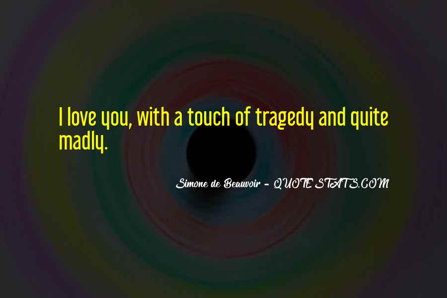 Most Tragedy Love Quotes #242671