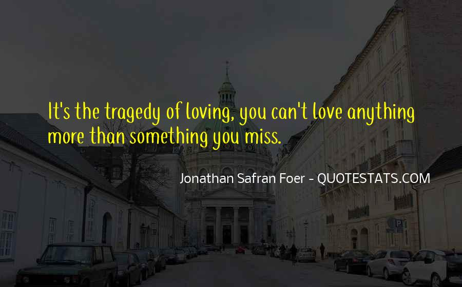 Most Tragedy Love Quotes #244755