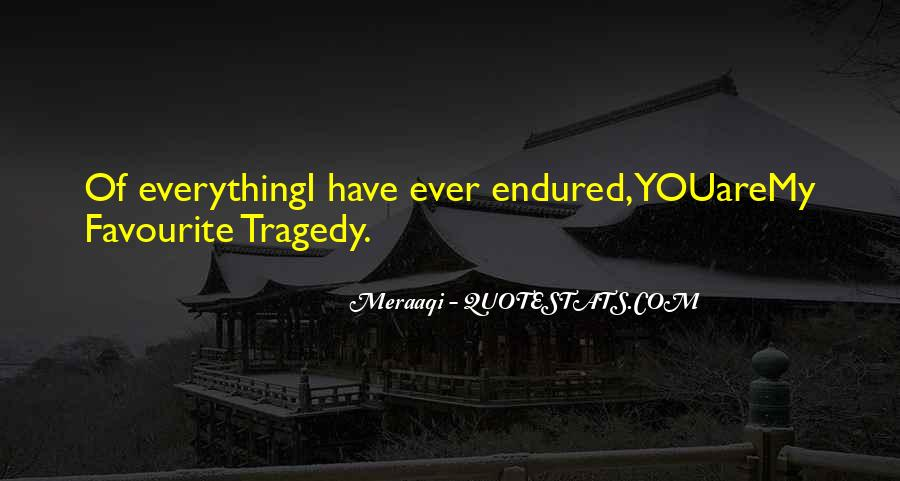Most Tragedy Love Quotes #253035