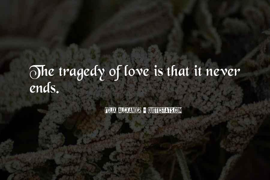 Most Tragedy Love Quotes #379010