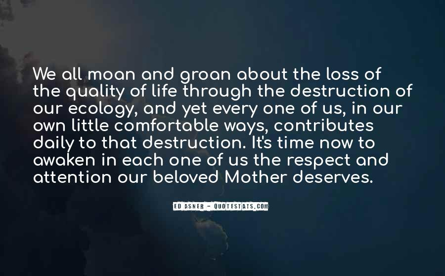 Mother Deserves Quotes #714245