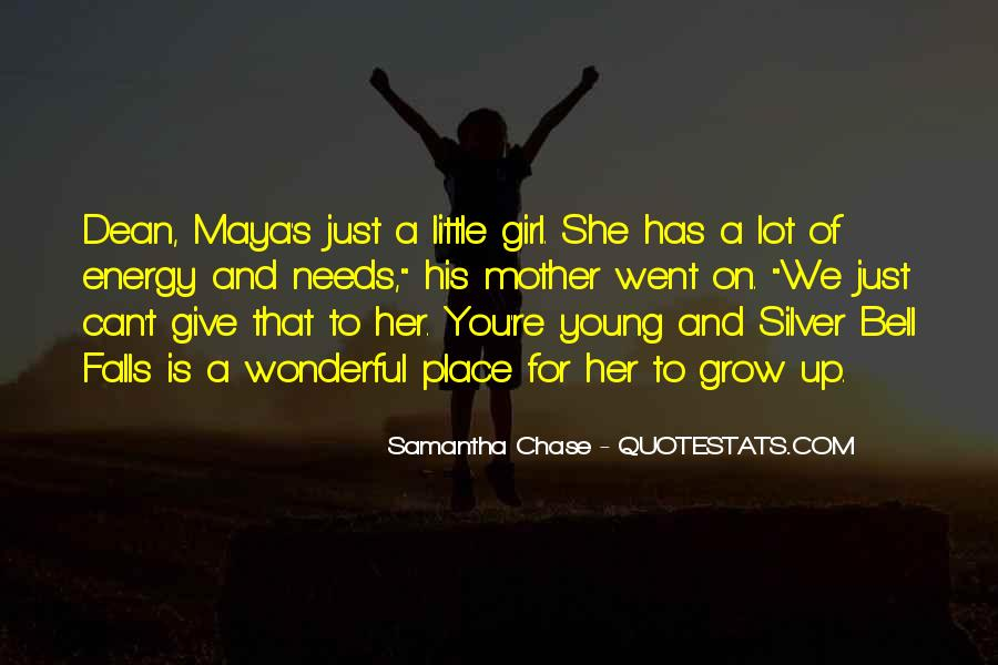Mother Little Girl Quotes #1250212