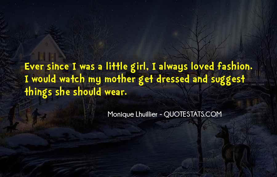 Mother Little Girl Quotes #1609016
