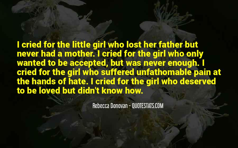 Mother Little Girl Quotes #337434