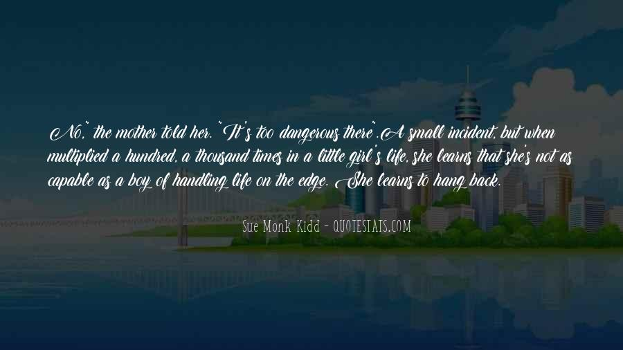 Mother Little Girl Quotes #534529