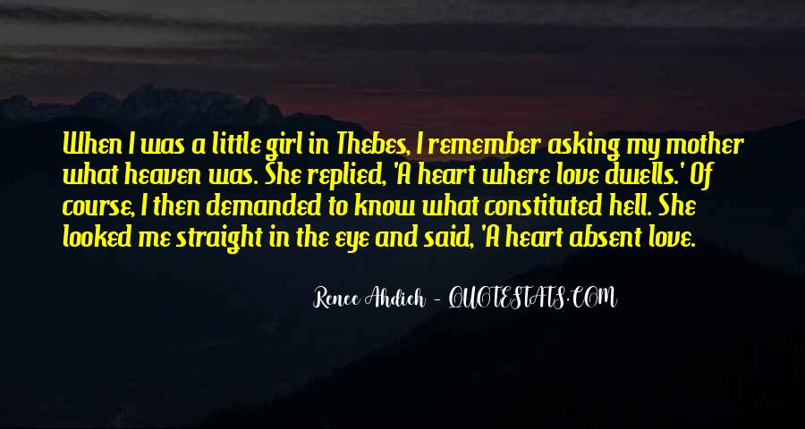 Mother Little Girl Quotes #951626